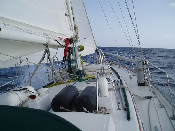 27 Hours of Sailing to Fort de France, Martinique from Tyrrel Bay, Grenada