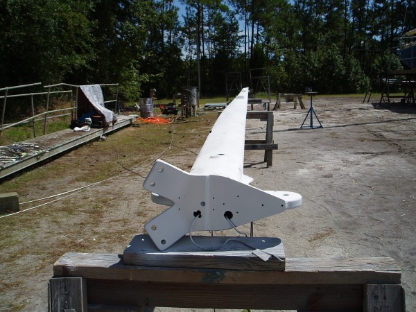 Repainted Mast