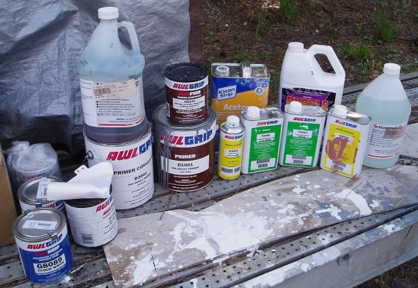 Mast Painting Materials