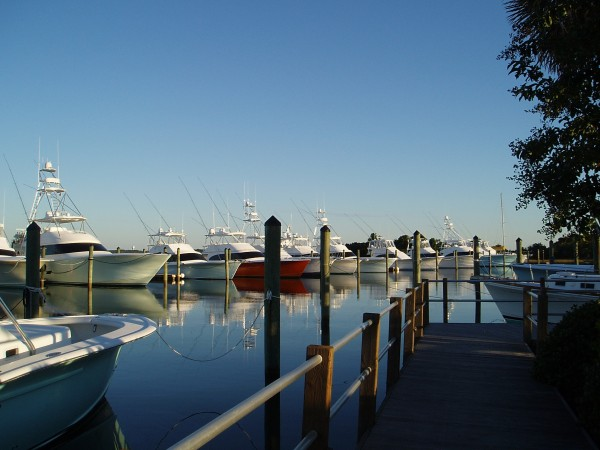 Morehead City Yacht Basin in North Carolina