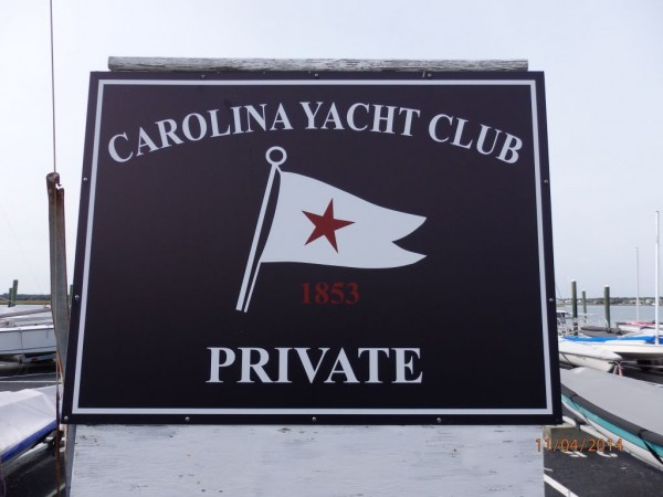Carolina Yacht Club in Wrightsville Beach in North Carolina