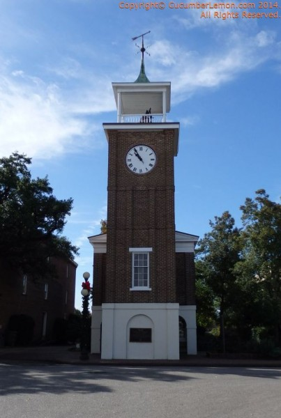 Clock Tower near Rice Museum in Georgetown