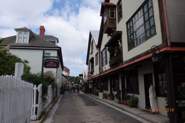 Old Town in Saint Augustine