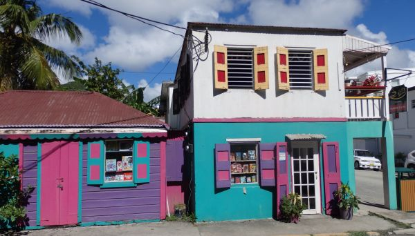 A Bookstore and Café on Tortola Island
