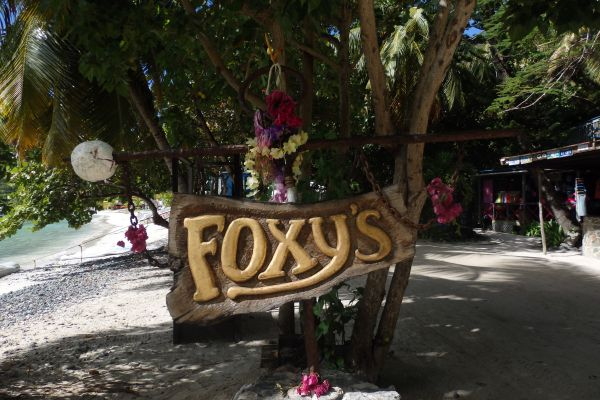 Every Day's a Party! Foxy's on Jost van Dyke Island