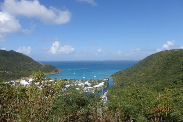 Anse Marcel: Froussard's Track Trail starts here.