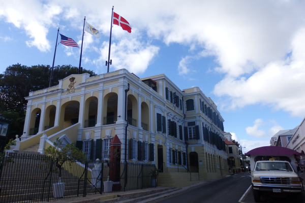 Government Building in Christiansted