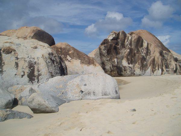 Huge Rocks at the Baths National Park, Virgin Gorda Island