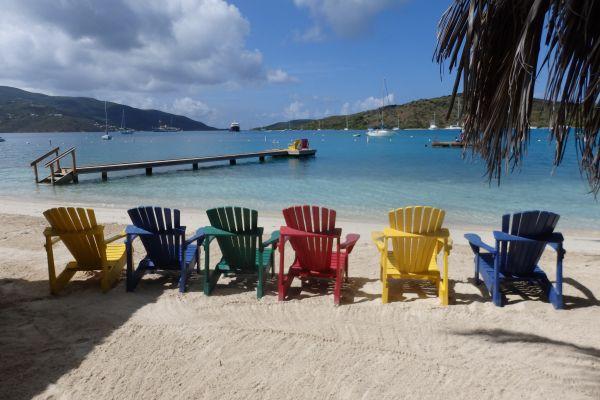 View from Bitter End Resort on Virgin Gorda Island