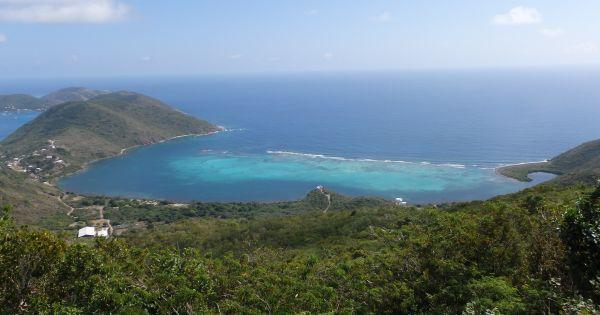 View from Gorda Peak National Park on Virgin Gorda Island