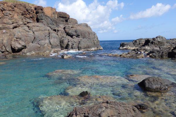 Jacuzzi Pool Near the Ocean