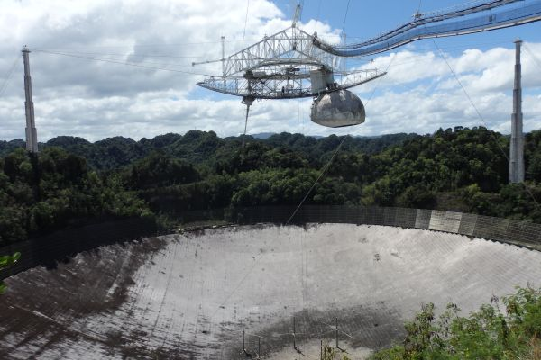 The World's Largest Radio Telescope in Arecibo Observatory