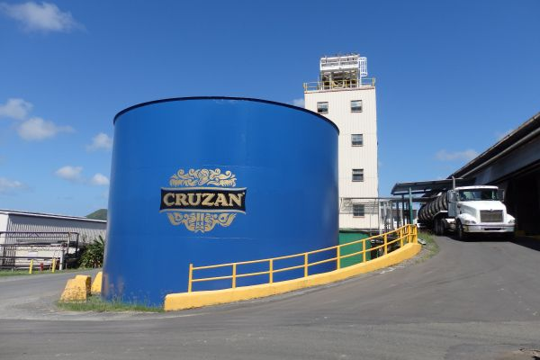 Cruzan Rum Factory Tour