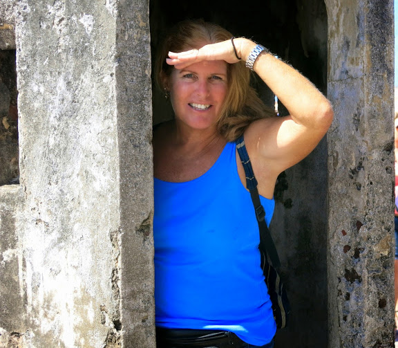 Jen at Old Town in San Juan, Puerto Rico in March 2015