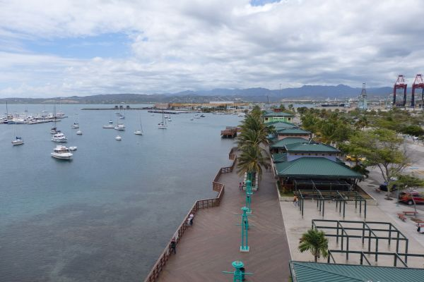 La Guancha Boardwalk by Ponce Harbor