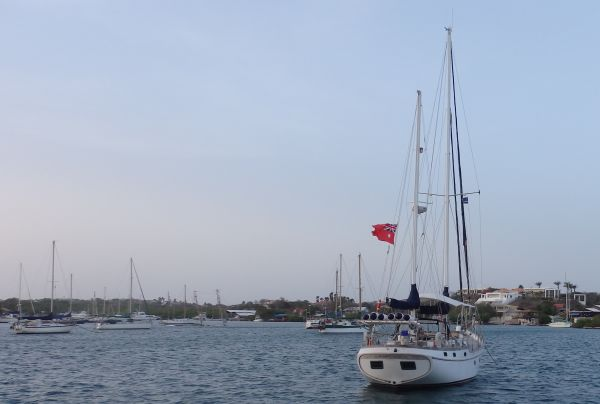 Neighboring Boat from Australia (Left Front Side from 'Bad Bunny')