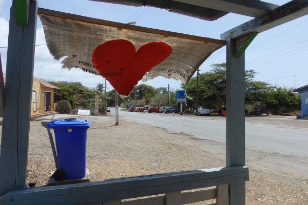 Public Bus Stop Near Janchie's Restaurant in West Punt