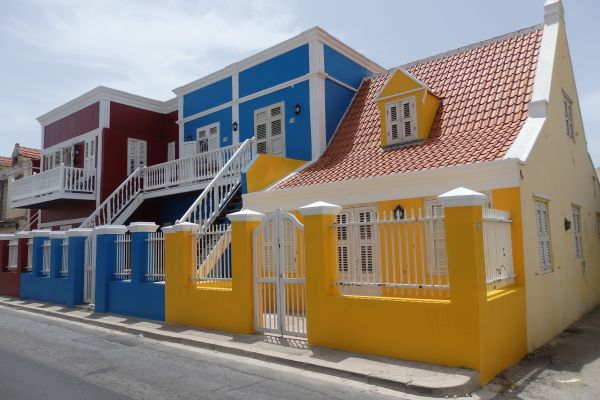 Colorful Buildings in Willemstad