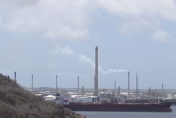 Oil Refinery Factory in Curacao