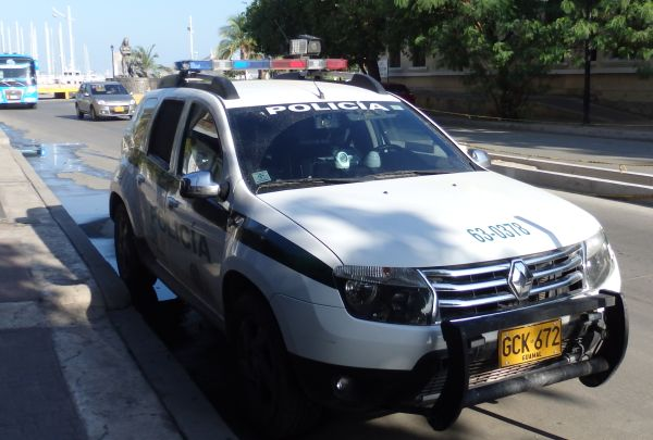 Police Car from Santa Marta Metropolitan Police Department