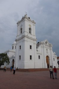 Santa Marta Cathedral in Town