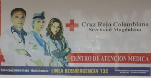 Red Cross in Santa Marta, Colombia