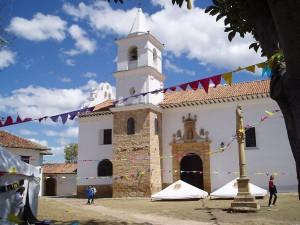 Iglesia Carmen in Villa de Leyva