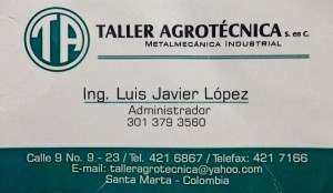 Machine Shop Address in Santa Marta, Colombia