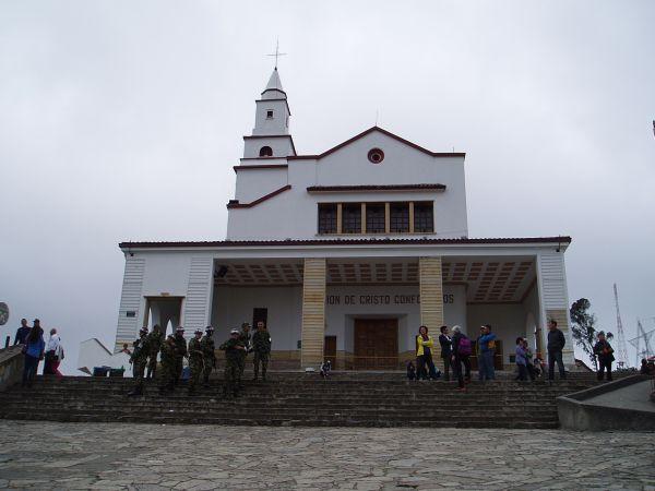 Santuario de Monserrate in Bogota, Colombia
