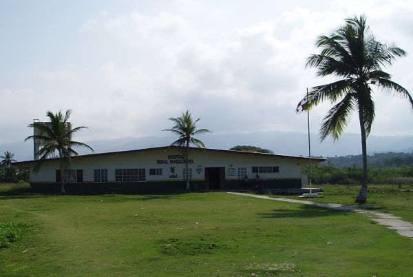 Health Center on the Main Land Next to Mulatupu Island in San Blas/Panama
