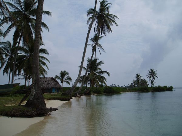 Calm Beach at Mamitupu Island