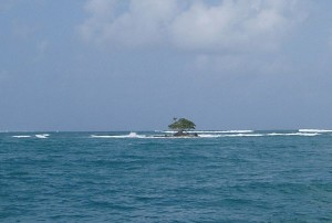 Island Near Rio Diablo