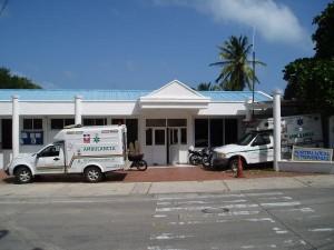 Providencia Island Local Hospital in Colombia