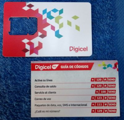 San Blas/Panama – Digicel SIM Card – Traveling and Sailing Kay Chung