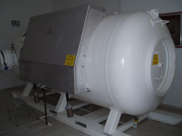 Recompression Chamber in Providencia Local Hospital, Colombia