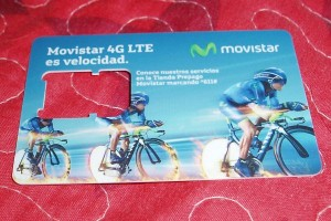 Movistar SIM Card, Providencia Island, Colombia