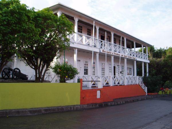 Government Building in Providencia, Colombia
