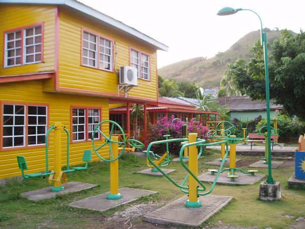 Health Park in Santa Isabel, Providencia Island, Colombia
