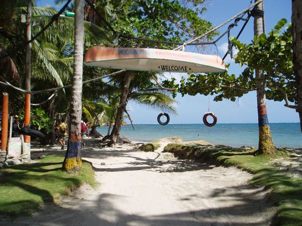 Roland Roots Bar Entrance at Manchineel Bay