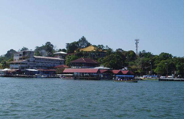 Livingston Municipal Pier (Red Roof), Guatemala