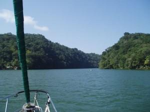 Rio Dulce River Entrance, Guatemala