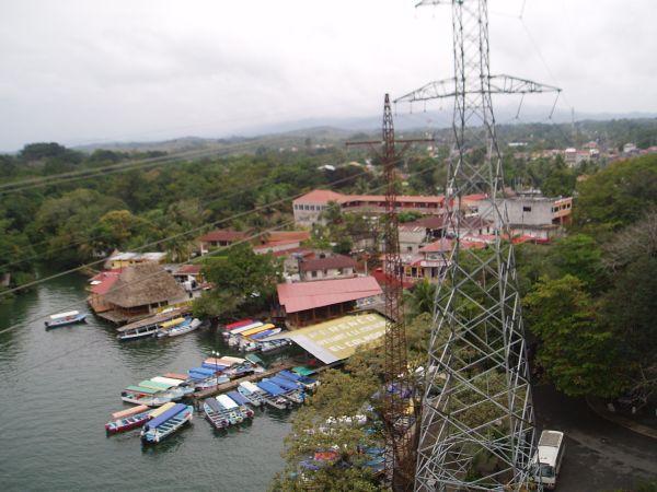 Rio Dulce Municipal Pier, Guatemala