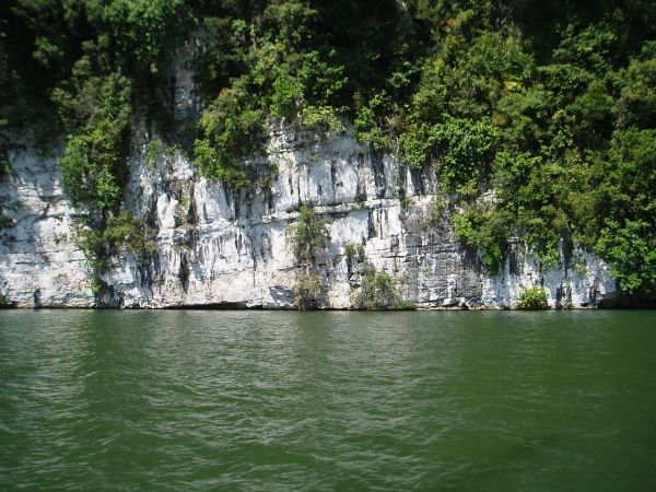 White Wall, Rio Dulce River, Guatemala