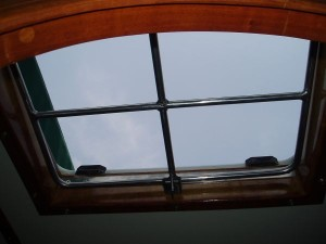 Burglar View from Inside of the Boat