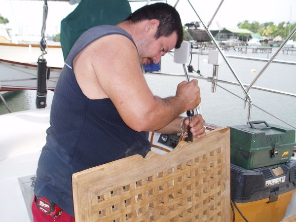Carpenter Carlos Urrutia (Phone Number 5189-0523) in Rio Dulce, Guatemala