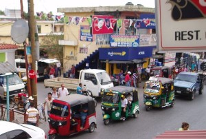 Tuc Tuc: Local Taxi, Rio Dulce, Guatemala