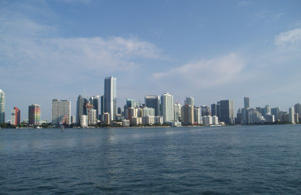 Miami Skyline, Florida, USA