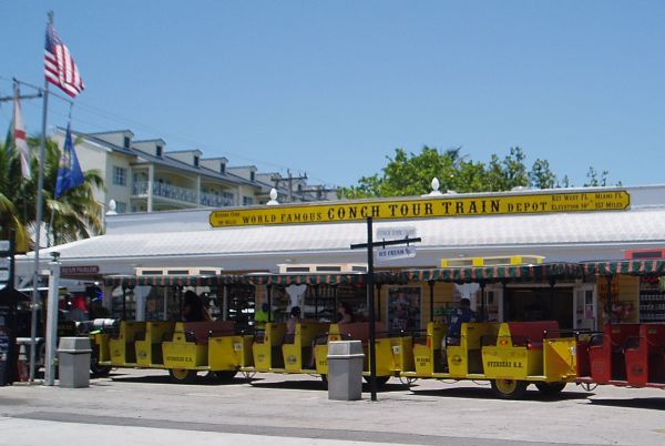 Conch Tour Train in Key West, Florida