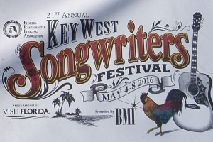 Key West Songwriters Festival Poster in 2016
