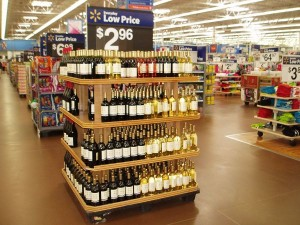 US$3 Bottle of Wine in Walmart, USA